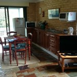 Unit 2 kitchen and dining area